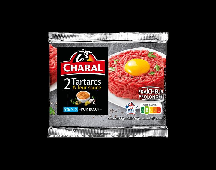 Tartare & sa sauce relevée x2 (270g)