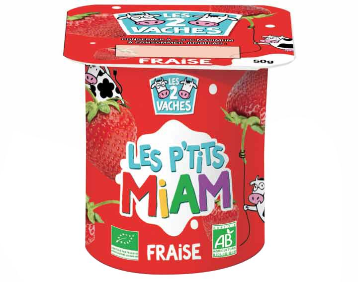 Les P'tits Miam à la fraise