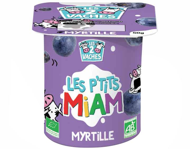Les P'tits Miam à la myrtille