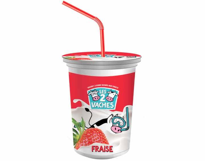 Les P'tits Miam à boire à la fraise