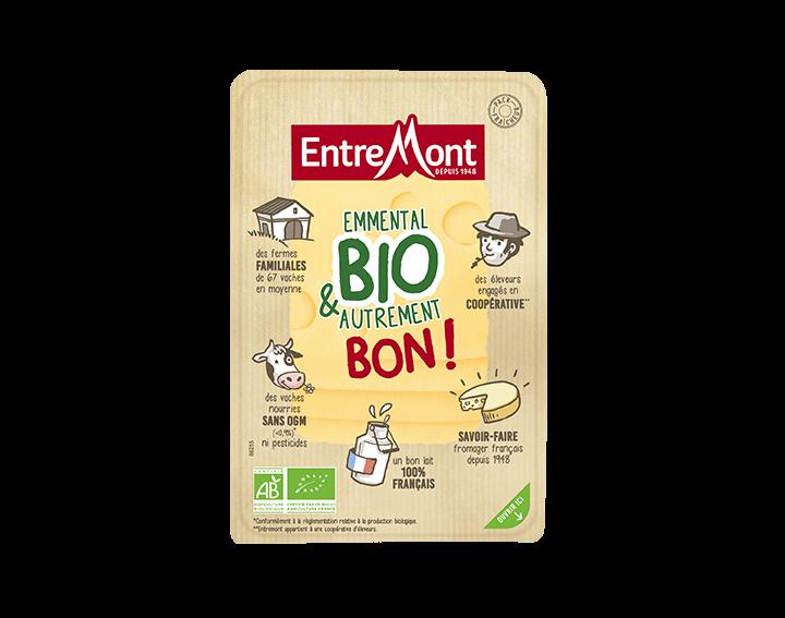 Tranches Emmental Bio Entremont 180g