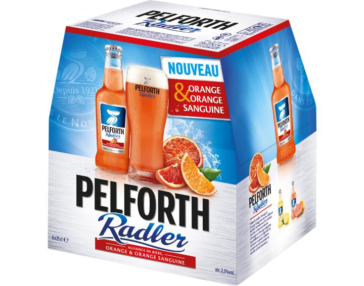 Pelforth Radler Orange & Orange Sanguine