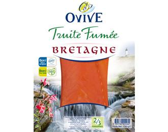 Truite Fumée de Bretagne  2/3 personnes 120g