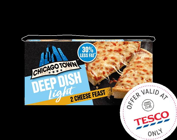 Deep Dish Light Cheese Feast 2x151g