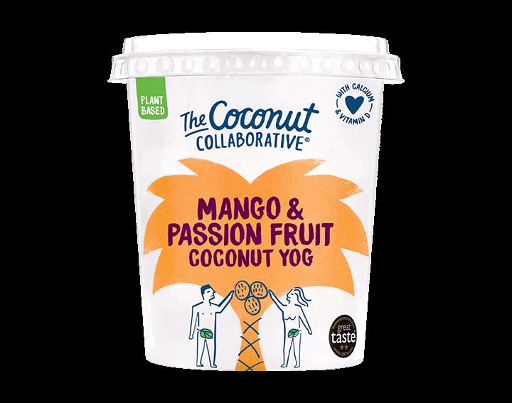 Mango & Passion Fruit Coconut Yog 360g