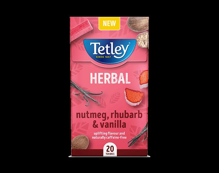 Vanilla, Nutmeg & Rhubarb x20 Tea Bags