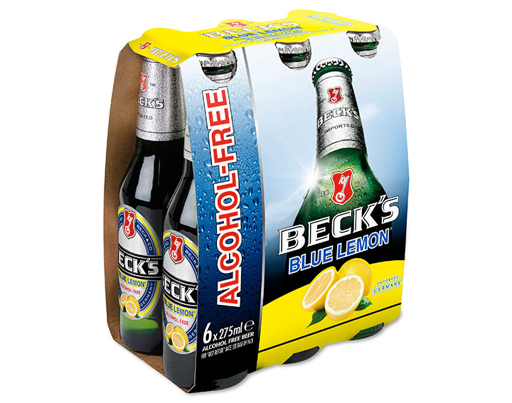 Beck's Blue Lemon 6 x 275ml
