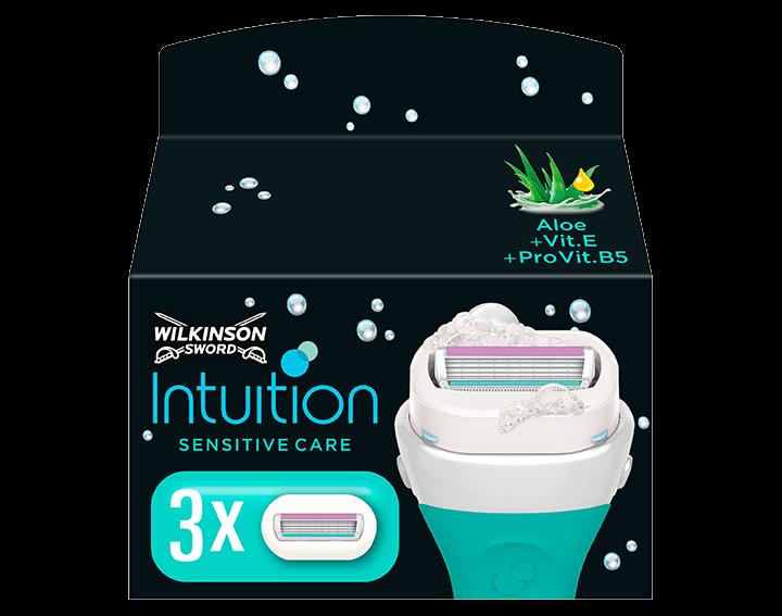 Intuition Sensitive Blade Refills x3