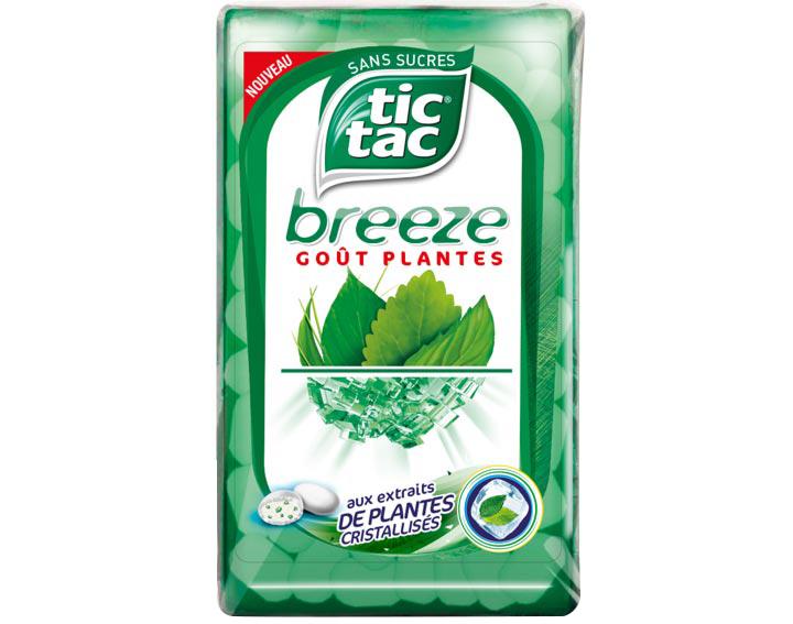 Tic Tac Breeze Goût Plantes
