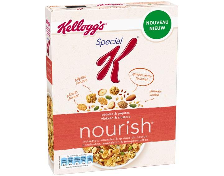 Special K nourish - Noisettes, amandes & graines de courge - 330g