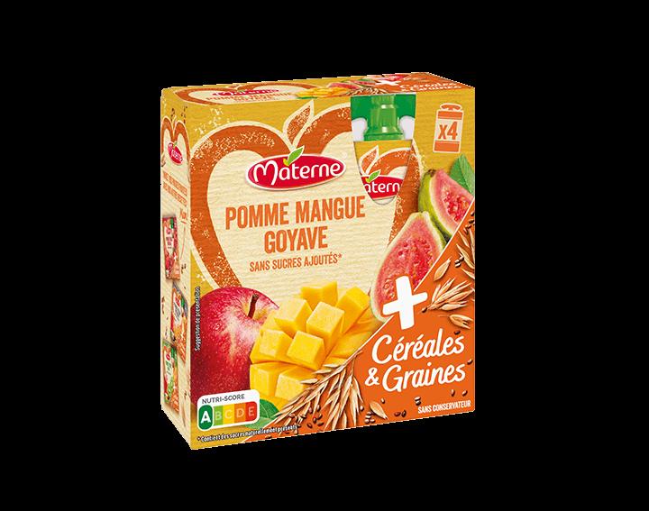 Pomme Mangue Goyave Céréales & Graines