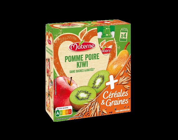 Pomme Poire Kiwi Céréales & Graines