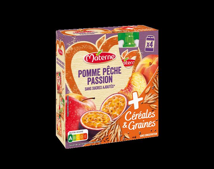 Pomme Pêche Passion Céréales & Graines