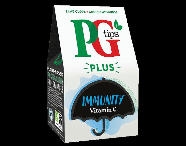 PG Tips Plus Immunity 20 Tea Bags