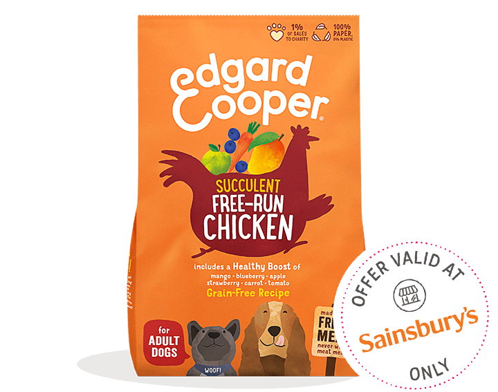 Fresh Free-Run Chicken Dog Food 1kg