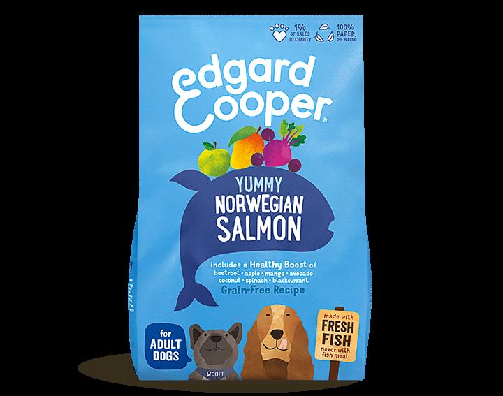 Fresh Salmon Dog Food 1kg