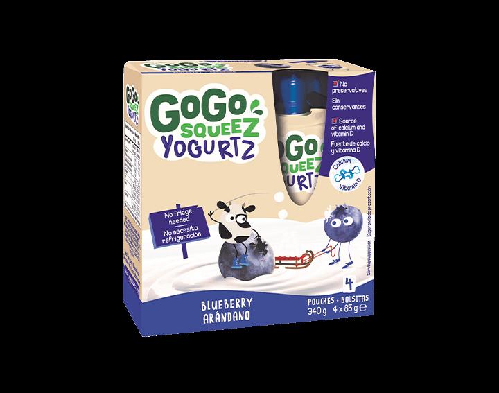 Blueberry YogurtZ 4x85g