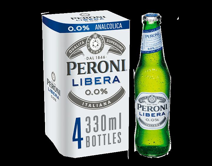 Peroni Libera 0.0% 4x330ml