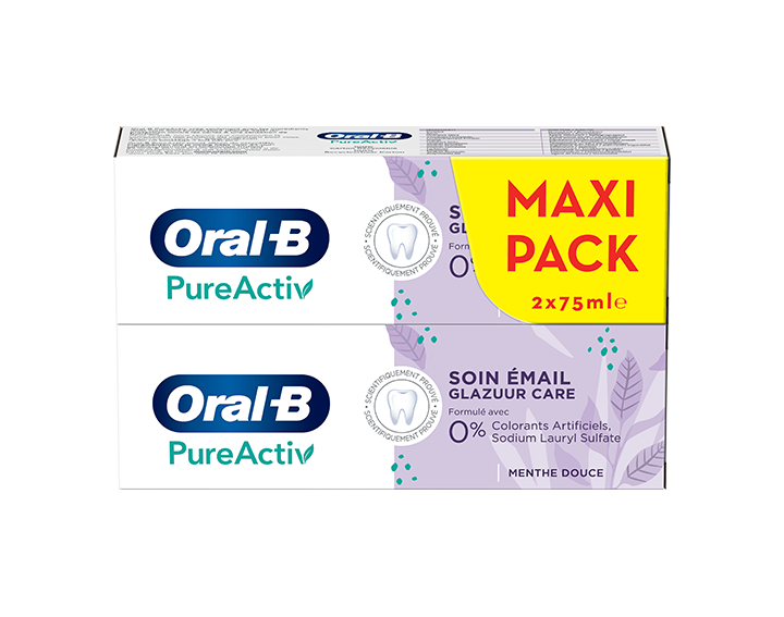 Oral-B PureActiv Soin Email 2x75ml