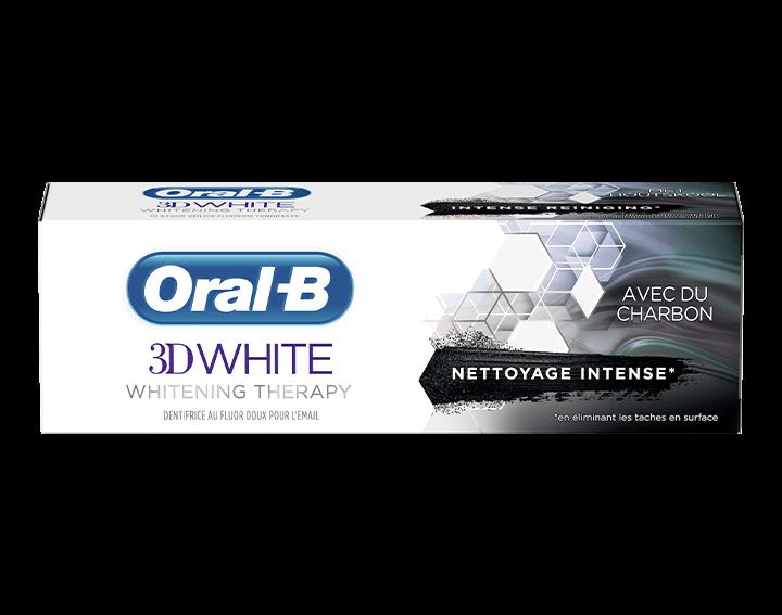 Oral-B 3D White Whitening Therapy Charbon 75ml
