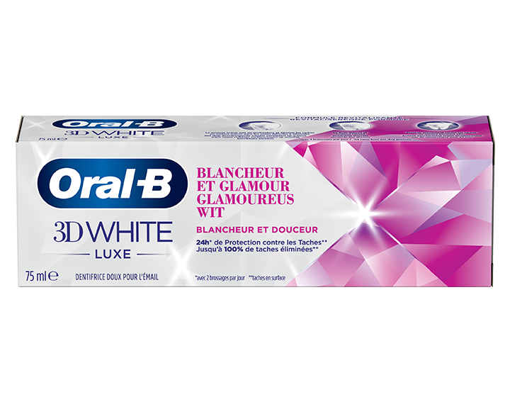 Oral-B 3D White Luxe Blancheur et Glamour 75ml