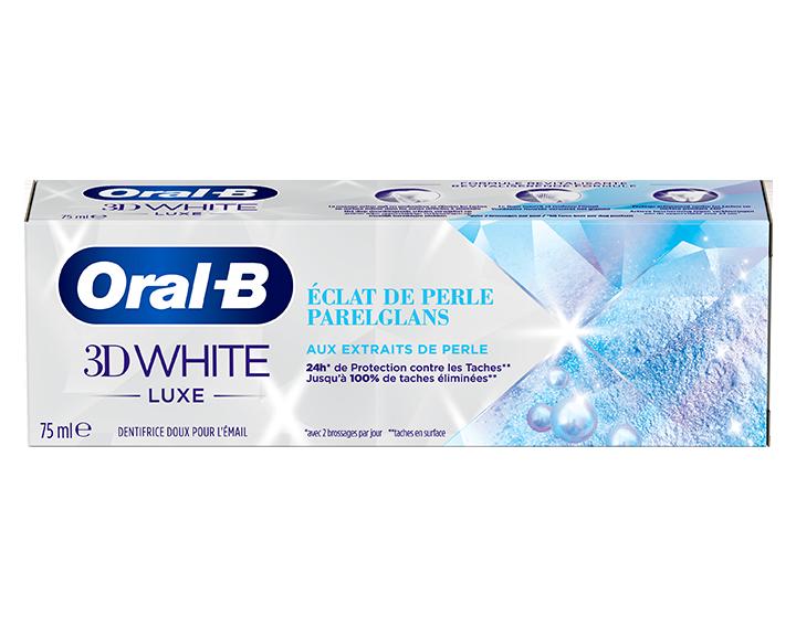 Oral-B 3D White Luxe Éclat de perle 75ml