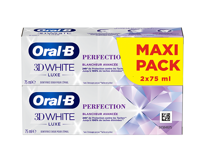 Oral-B 3D White Luxe Perfection 2x75ml