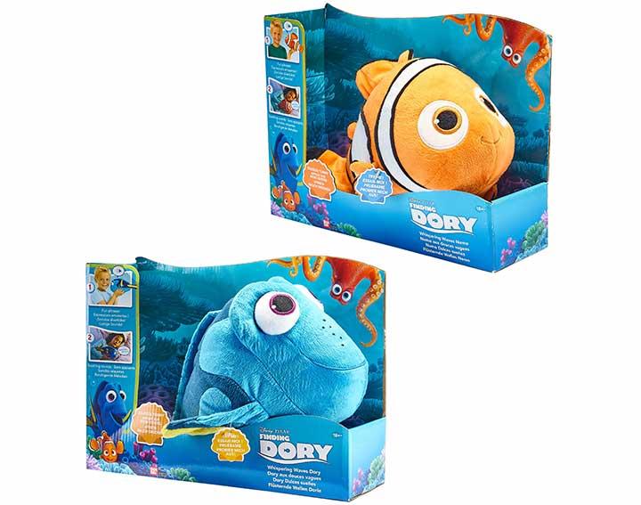 Peluche à fonction Mon Ami Nemo/Dory