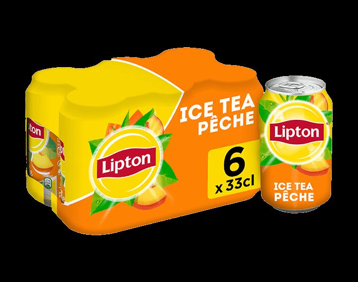 Lipton Saveur Pêche 6x33cL