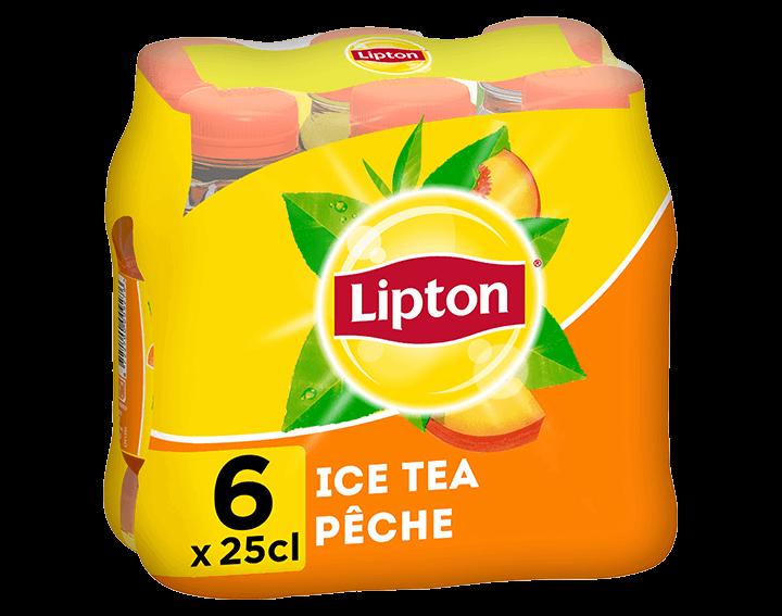 Lipton Saveur Pêche 6x25cL