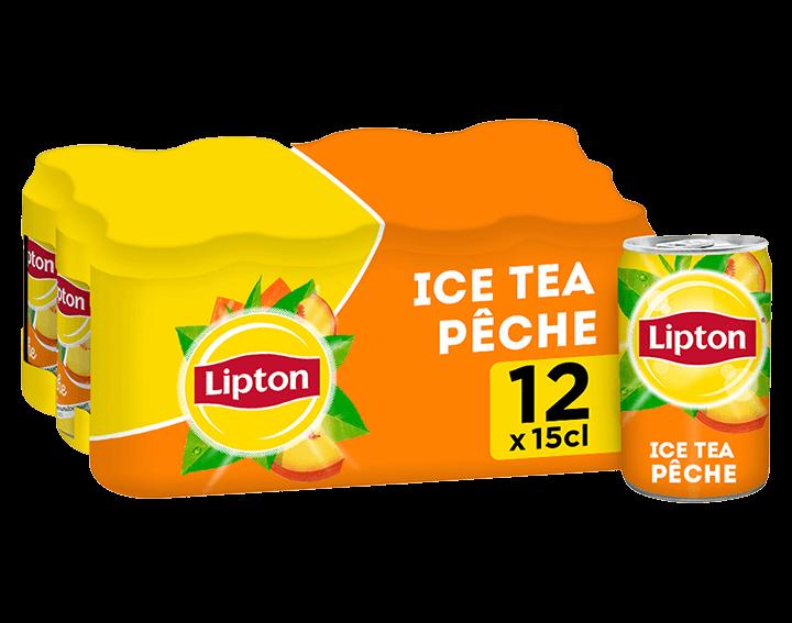 Lipton Saveur Pêche 12x15cL