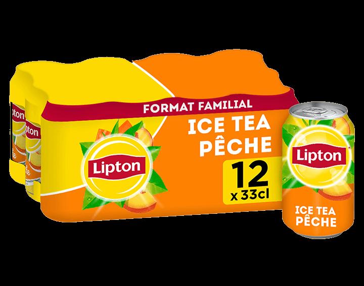 Lipton Saveur Pêche 12x33cL