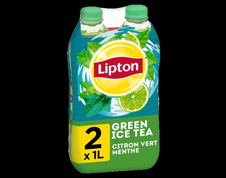 Lipton Green Citron Vert Menthe 2x1L