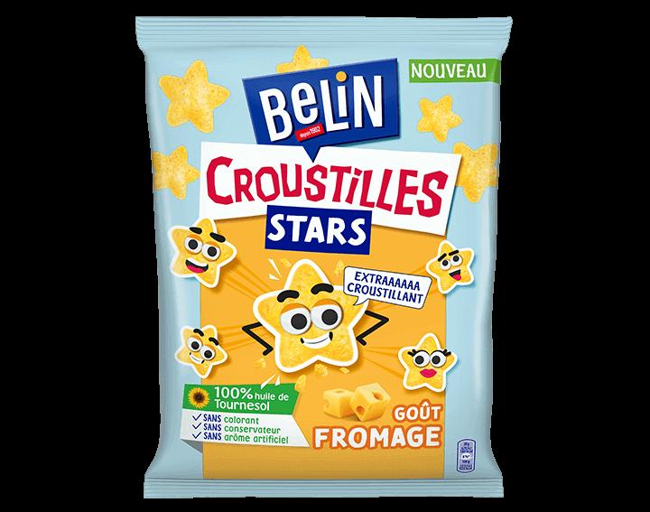 Belin Croustilles Stars Fromage 90g