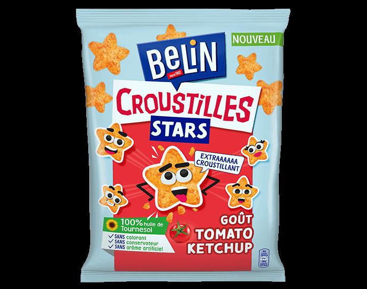 Belin Croustilles Stars Tomato-Ketchup 90g