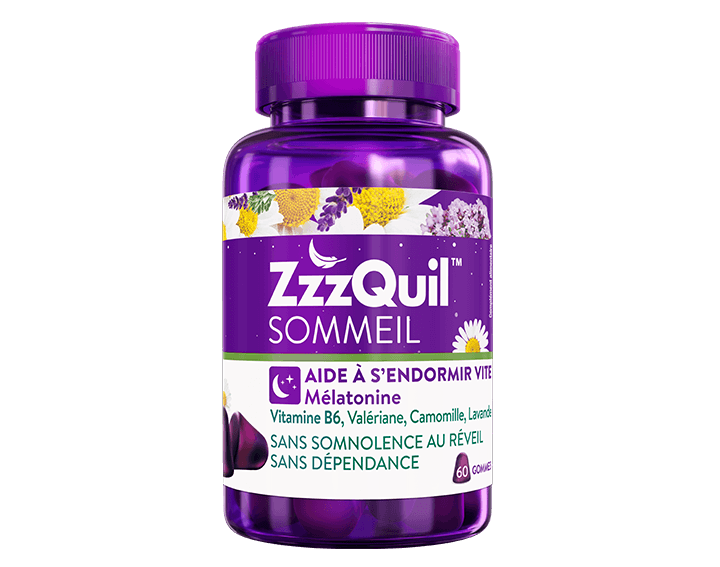 ZzzQuil™ Sommeil 60 gommes