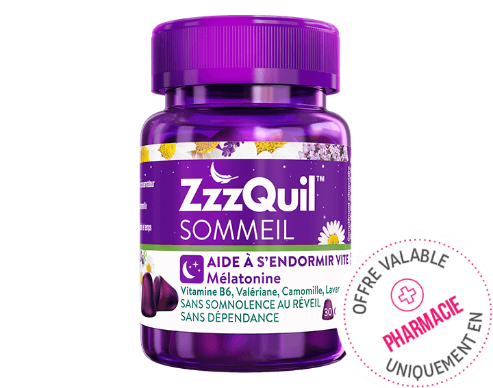 ZzzQuil™ Sommeil 30 gommes