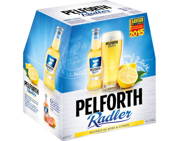 Pelforth Radler Citron 6x25cl
