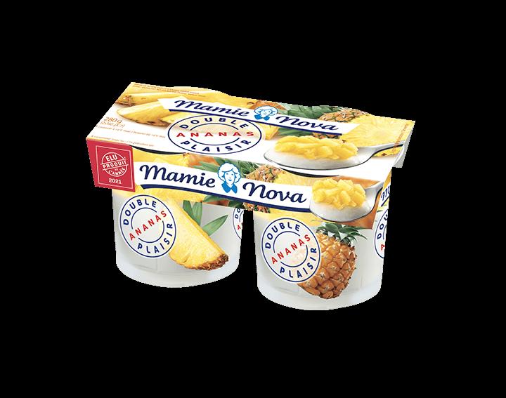 Double Plaisir Ananas 2x140g
