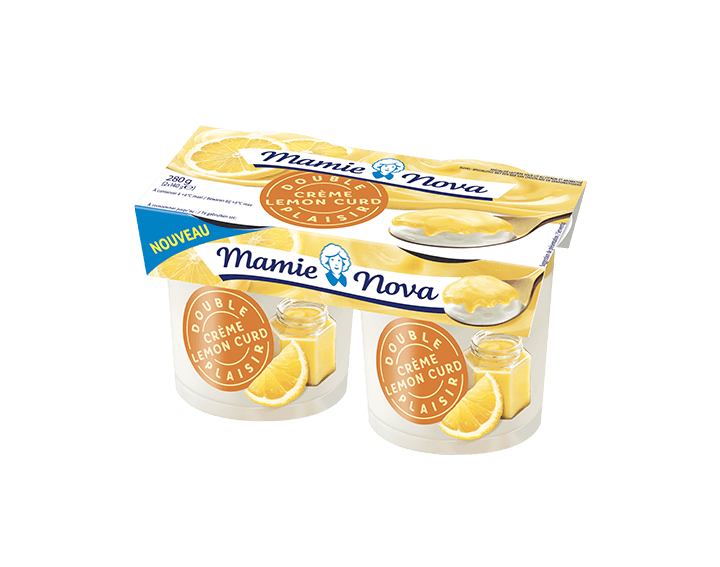 Double Plaisir Crème Lemon Curd 2x140g