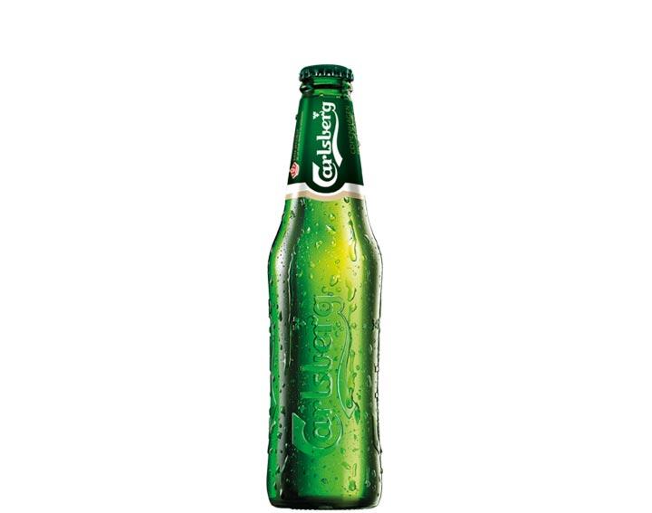 Carslberg en bouteille 25cl ou 33cl