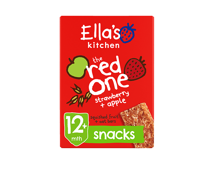 The Red One Strawberry + Apple Oat Bar 125g