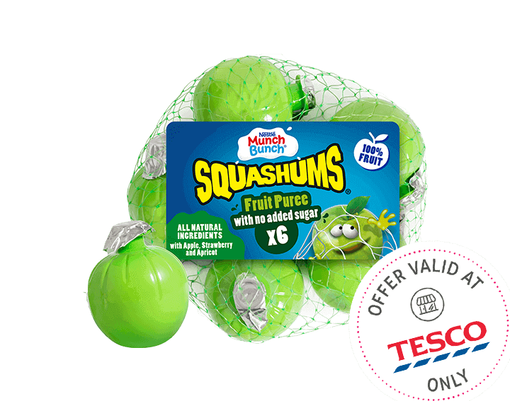 Squashums Fruit Puree 6x50g