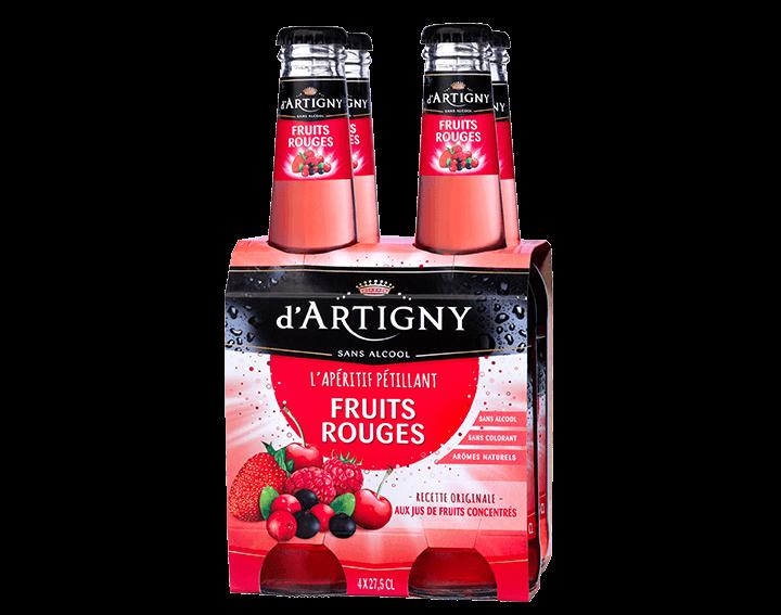 D'Artigny Fruits Rouges 4x27,5cl