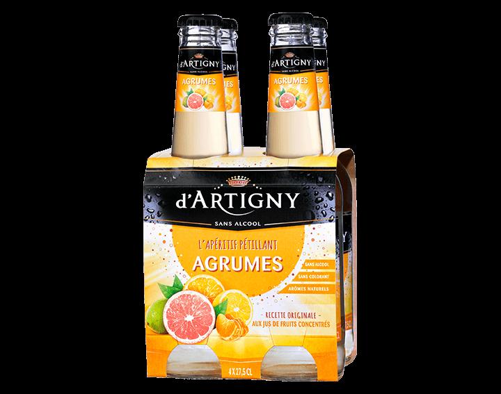 D'Artigny Agrumes 4x27,5cl