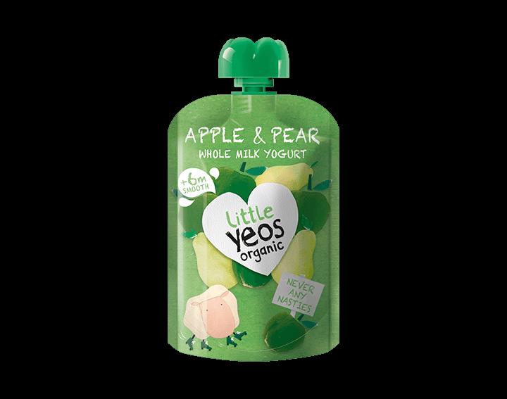 Apple & Pear Yogurt Pouch 90g