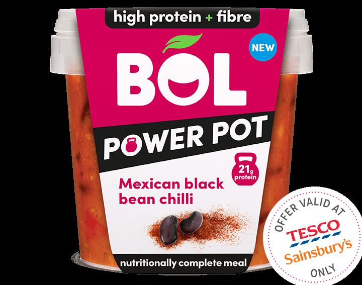 Mexican Black Bean Chilli - 450g