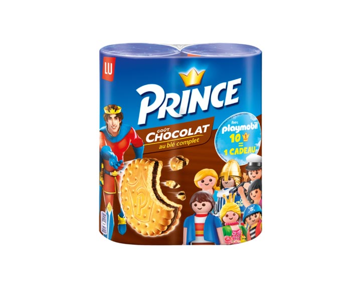 Prince Goût Chocolat & Playmobil Lot de 2