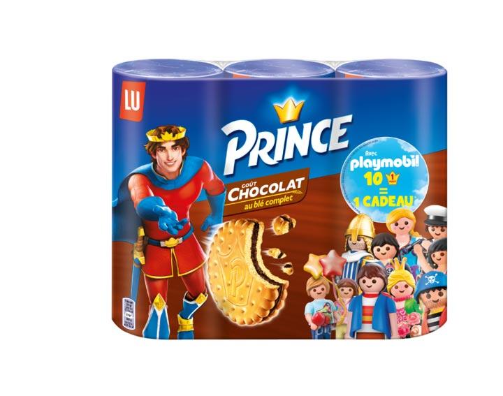 Prince Goût Chocolat & Playmobil Lot de 3