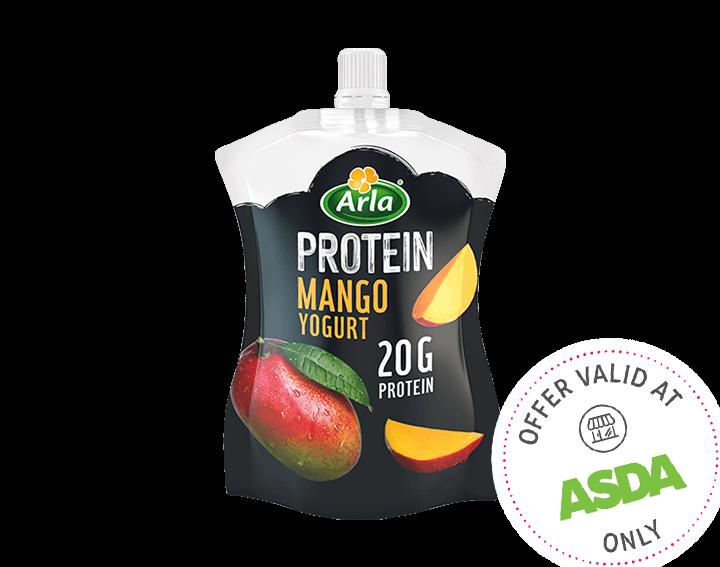 Mango Yogurt Pouch 200g